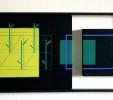 Senza titolo (2014) | Assemblato | acrilico su tavola | cm 63x33x3