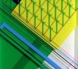 Giardino pensile (2012) | Resina e pigmenti | cm 24x24x2