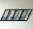 Metrò (2014) | Assemblato | Legno e alluminio policromo | cm 165x55x4