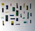 Senza titolo (2014) | Installazione alluminio policromo | cm 240x190