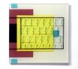 Giardino pensile (2010) | Resina e pigmenti | cm 50x50x2