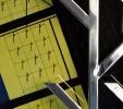 Traslitterazione (2010) | Installazione | Particolare - acciaio - inox - legno - pigmenti | cm 100x200x40