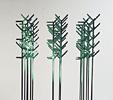Simbiosi programmate (2005)   Acciaio inox verniciato   cm 120x205x210   Courtesy CCPL Reggio Emilia