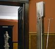 Giardino italiano (1994-2005)   Acciaio inox   cm 60x33x192   Courtesy CCPL Reggio Emilia